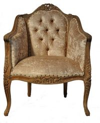 FAUTEUIL CARVED BAROCCO