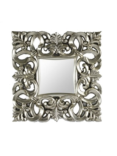 Id es de conception de maison moderne page of 1 for Miroir baroque argent