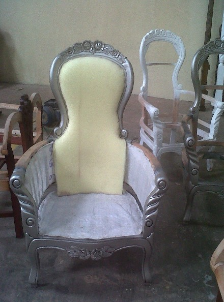 Carcasse de Fauteuil Flower Grandfather