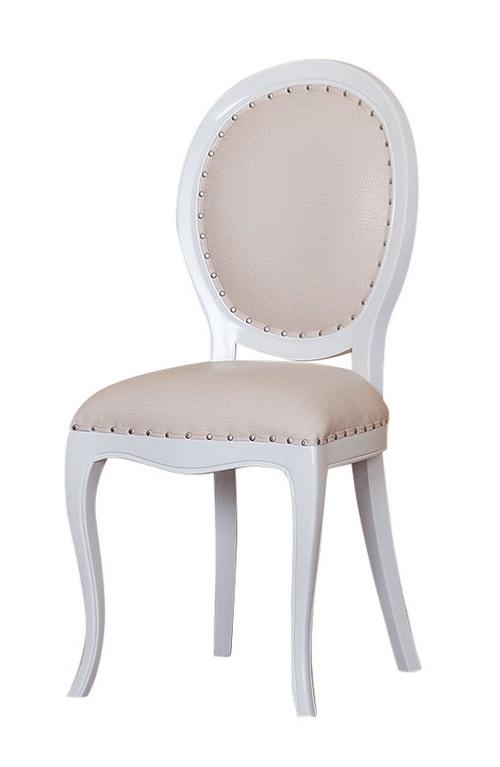 Chaise baroque - Chaise baroque blanche ...