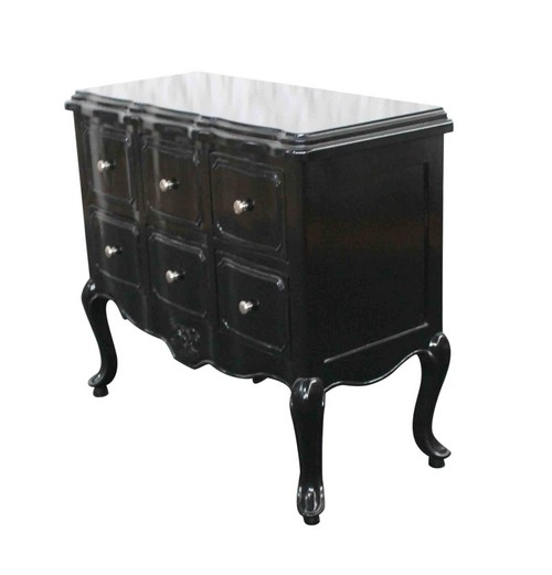 commode de style baroque design. Black Bedroom Furniture Sets. Home Design Ideas