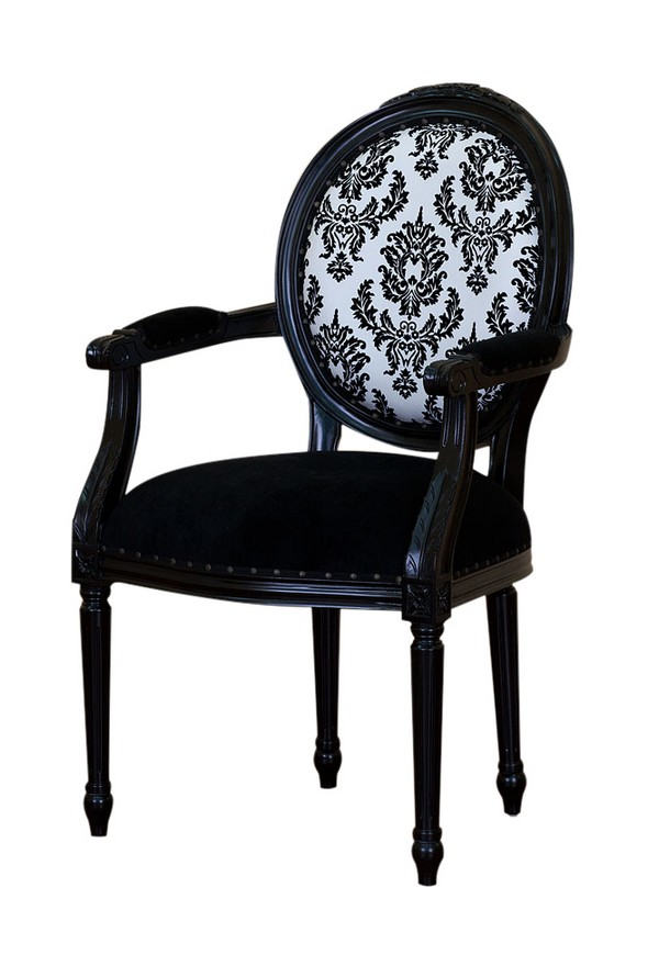 chaise baroque louis xvi. Black Bedroom Furniture Sets. Home Design Ideas