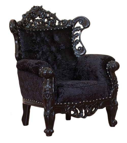fauteuil baroque mirandello. Black Bedroom Furniture Sets. Home Design Ideas