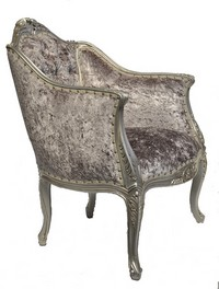 FAUTEUIL BAROQUE CARVED BAROCCO