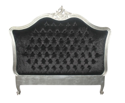t te de lit baroque noir. Black Bedroom Furniture Sets. Home Design Ideas