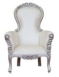 FAUTEUIL BAROQUE FLOWER GRANDFATHER