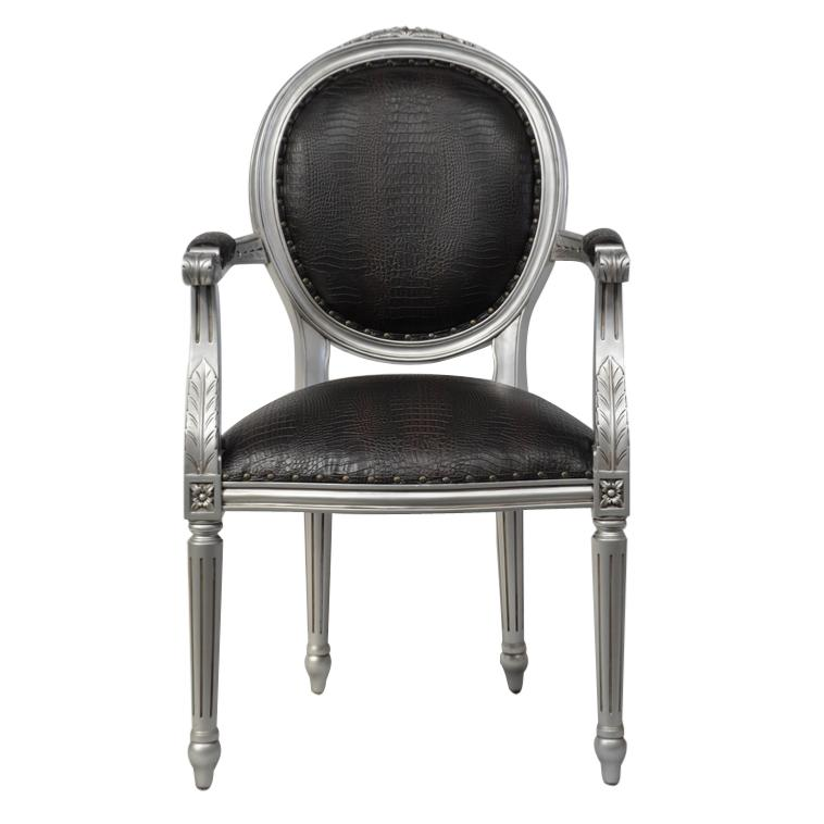 magnifique fauteuil de style louis xvi. Black Bedroom Furniture Sets. Home Design Ideas
