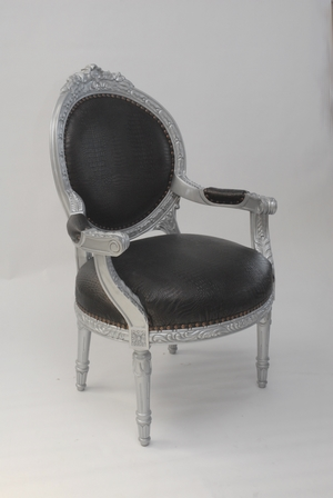 FAUTEUIL BAROQUE STYLE LOUIS 16