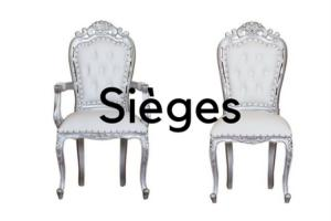 ASSISES & SIEGES EN STOCK